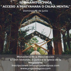 Seminario de Yoga @ MONASTERIO DE LA RESURRECCIÓN, COMUNIDAD DEL SANTO SEPULCRO